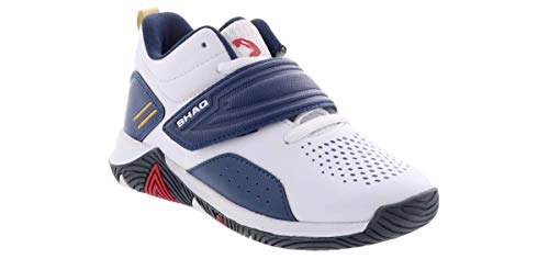 Shaq Corner Boys' Basketball Shoe in White, Size 13 Medium