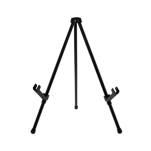 US Art Supply 'Exhibitor Black Steel Tabletop Instant Display Easel
