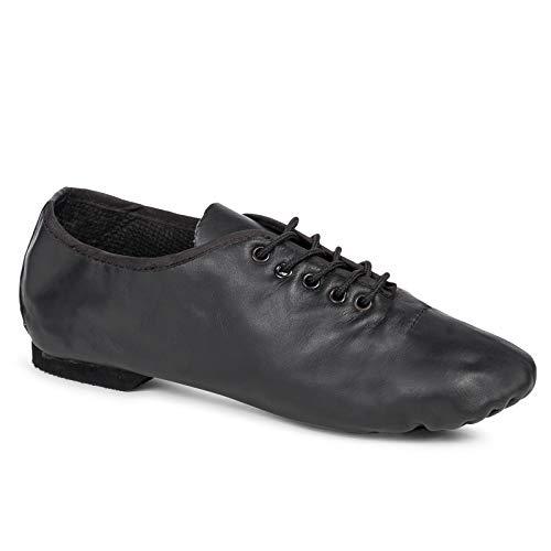 Kostov Sportswear 103 Jazzschuh (mit Ledersohle), schwarz, Gr. 37