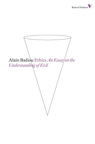 Ethics: An Essay on the Understanding of Evil (Radical Thinkers)
