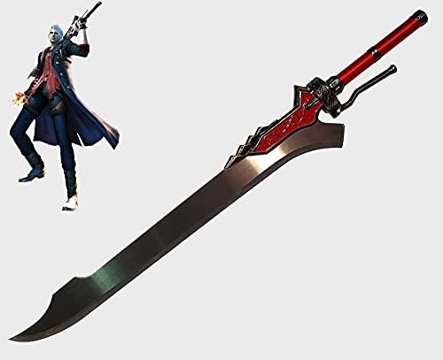 Espada Rainha Vermelha Devil May Cry Cosplay s/corte 126 cm