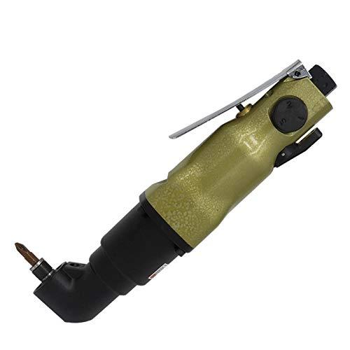 Herramientas aéreas 8H de grado industrial destornillador neumático, Derecho de mano ángulo de Aire Destornillador, Carpintería Decoración Destornillador Para la renovación del hogar, la fabricación d