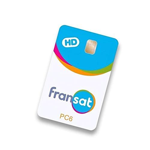 Carte pour chaînes françaises Fransat avec abonnement illimité