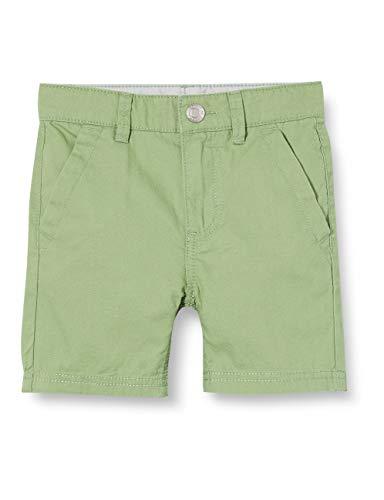 ESPRIT KIDS Jungen RQ2601403 Woven Shorts, Grün (Pastel Green 522), (Herstellergröße: 128)