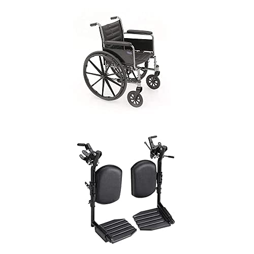 Invacare Tracer EX2 OFFicial store Wheelchair for In Adults gift Folding Standard 20