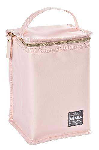 BÉABA - Isoliertasche für Babymahlzeiten - Geräumig - Aufbewahrung von Baby-Flaschen - Tasche für komplette Mahlzeiten - Zusammenlegbar - Weiches und wasserdichtes Material - Gold