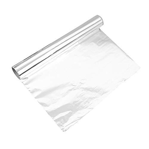Rollo de hojas de aluminio para barbacoa, 10 m de papel de aluminio, resistente al agua para restaurantes, catering, camiones de alimentos, carros, cocina, servicio de alimentos, hornear