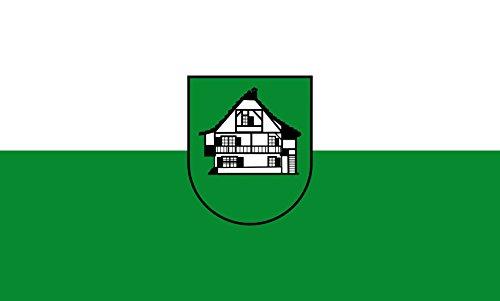 Unbekannt magFlags Tisch-Fahne/Tisch-Flagge: Hausen im Wiesental 15x25cm inkl. Tisch-Ständer