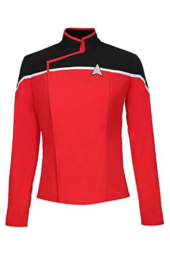 Fortunezone Star Trek: Lower Decks Uniform Kostüm Star Trek Cosplay Uniform Damen M