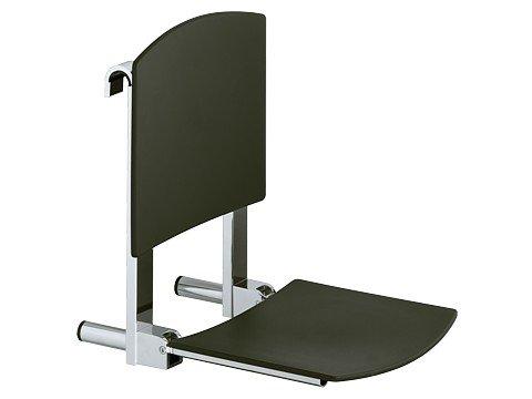 Keuco 34981170051 Klappsitz Plan Care Sitzfläche 360 mm, silber-eloxiert / weiß