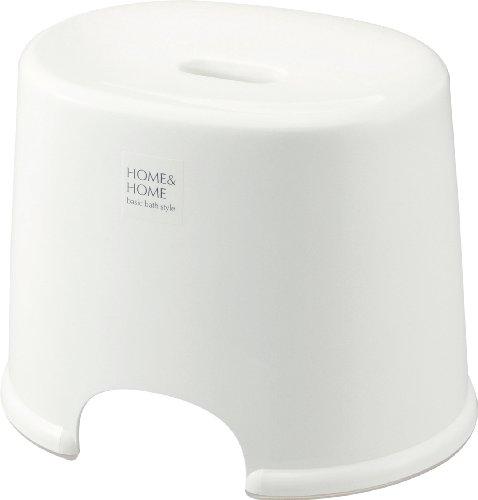 リス 風呂椅子 高さ 25cm ホワイト H&H『防カビ加工』 日本製