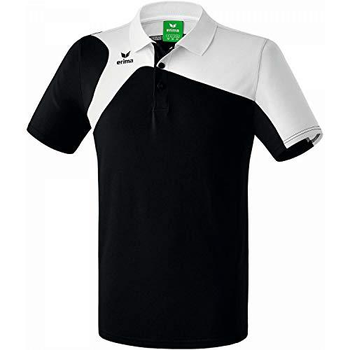 Erima Club 1900 2.0 Polo Homme, Noir/Blanc, FR (Taille Fabricant : XL)