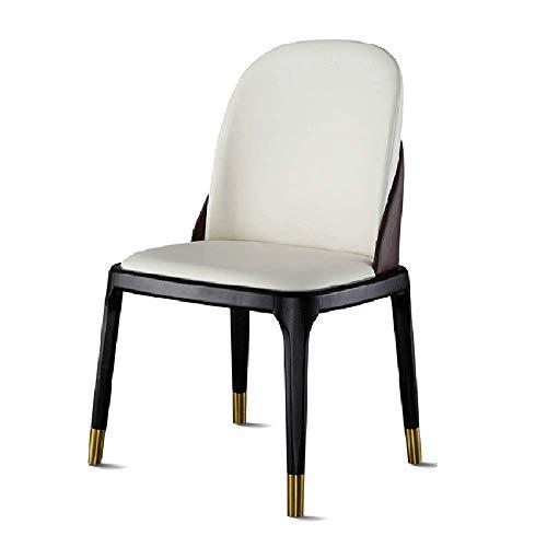 LKK-KK Silla de Comedor Moderno Living Comedor Silla sillas habitación Club de Clientes sólida sillas de Madera for la Cocina de Cocina (Color, tamaño: 55x50x90cm)