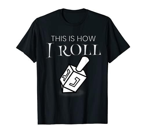Funny Hannukah Clay Dreidel T-Shirt