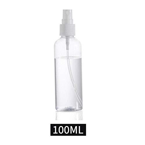 LOH Flacon vaporisateur de parfum vide en plastique transparent 30 ml 50 ml 100 ml, 100 ml