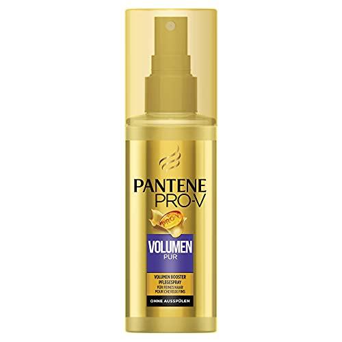Pantene Pro-V Volumen Pur Volumen Booster Pflegespray für Feines Haar, Plattes Haar, Haarpflege, Volumen Haare, Beauty, Volumen Spray Damen, Pflegespray, 150ml