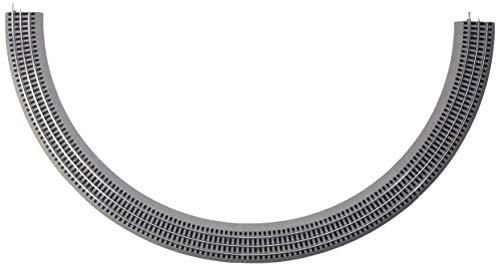 Lionel FasTrack Electric O Gauge, O36 Curve Track, 4-Pack