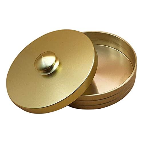XINGFUQY Mire el reloj limpio del cilindro de la taza de cobre Reloj de pulsera de cobre Herramienta de limpieza de aceite Lavar la taza de lavado de la olla de almacenamiento Herramienta de reparació