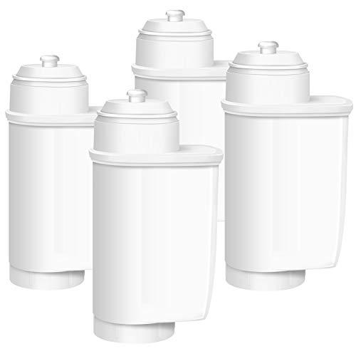 Mixoo Pack de 4 filtros de repuesto para cafeteras Siemens EQ.6/EQ.9/TZ70003, Bosch TCZ7003/575491/467873 (no para Brita Intenza+)