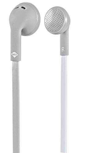 Mysound Speak Flat Auricular con micrófono y tecla de Respuesta,...