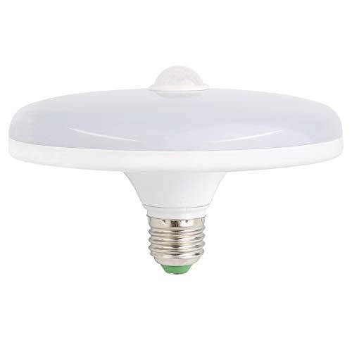 Motion Sensor LED Light Bulbs, 18W (150 Watt Equivalent) E26 Motion Activated Dusk to Dawn Security 1500 Lumen Ceiling Light Bulb Indoor/Outdoor for Porch, Garage, Basement, Hallway - Warm White