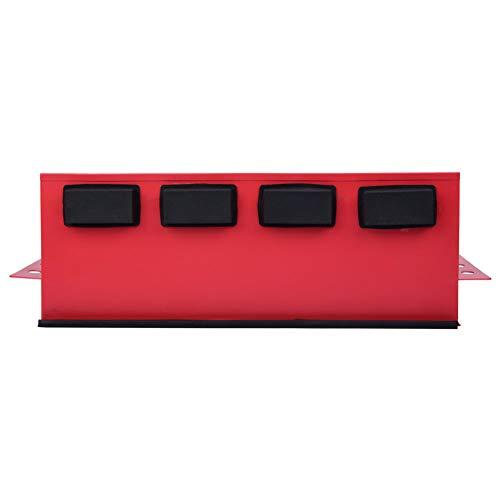 Magnetbricka, hög precision kraftig verktygslåda, för verktygsskåp 35 x 12 x 12 cm reparationsverktyg kylskåp