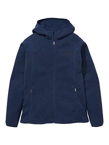 Marmot Damen Wm's Torla Hoody, Warme Fleecejacke, Outdoor-Jacke mit durchgehendem Reißverschluss, atmungsaktiver und windbeständiger Sweater, Arctic Navy, L