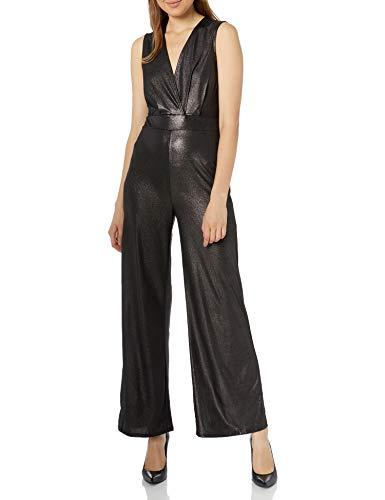 BCBGeneration Damen Wide Leg Jumpsuit, schwarz, X-Klein