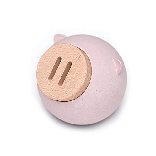 YXXHM- Piggy Bank Personalidad Pig Piggy Bank Chica Creativa Cambio de Moneda Tanque de Almacenamiento Chico Significado Auspicioso Pink