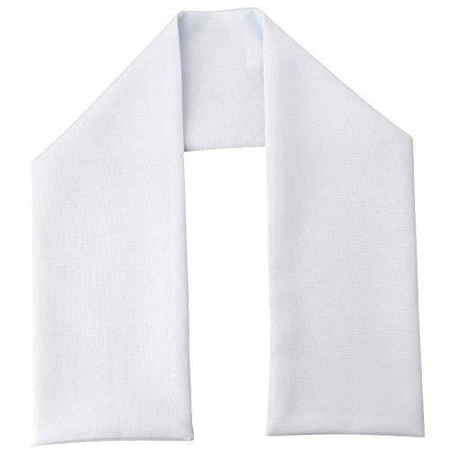 Boutique-Magique étole blanche pour baptême ou écharpe de communion, Blanc, S