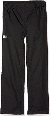 Helly Hansen-Completo Maglia e Pantaloni Antipioggia da Bambino, Colore: Nero/Nero