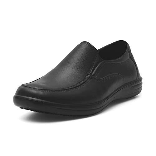 babaka Men's Slip Resistant Shoes for Men Work Boots Slip On Food Service  Shoes- Buy Online in Bermuda at bermuda.desertcart.com. ProductId :  166704755.