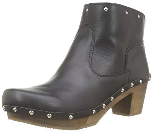 Sanita Damen NIRO Block Flex Boot Schlupfstiefel, Schwarz (Black 2), 40 EU