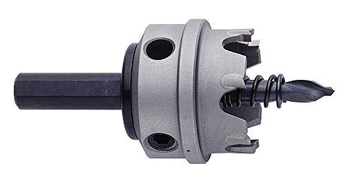 EXACT 6164 - Sierra de corona de metal duro, diámetro de 74 mm