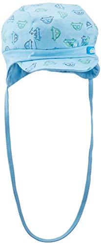 Döll Baby-Jungen Sonnenhut Bindemütze mit Schirm Jersey, Blau (Air Blue|Blue 3600), 49