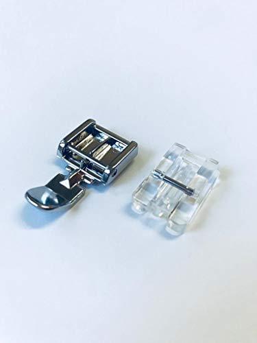 Reißverschlussfuß und nahtverdeckter Reißverschlussfuß für Pfaff Nähmaschinen Hobby Serie 301, 305, 307, 309