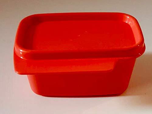 Tupperware Hitparade - Bote de 160 ml con tapa antigoteo con tapa Clarissa Panorama, sistema de refrigerador rojo