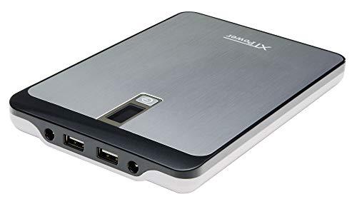 XTPower® MP-23000A Powerbank - mobiler externer hochleistungs USB und DC Akku mit 23000mAh - 2 USB bis 2.5A und DC 9V/12V/16V/19V/20V 4,5A