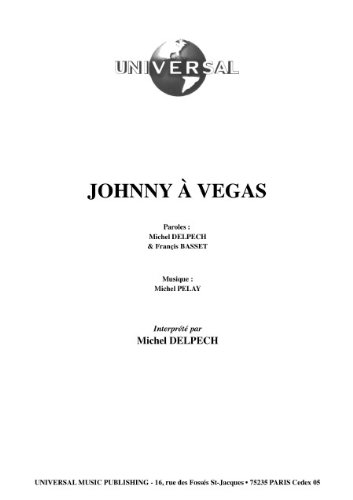 JOHNNY A VEGAS