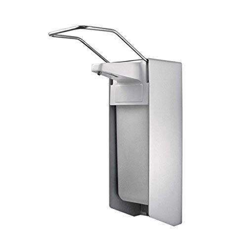 Dyong Soap Dispenser Desinfektionsmittelspender 1000 ml Kurzstab-Kunststoffpumpe ALU Verteiler 29,5 x 16,5 x 10,5 cm für Krankenhausbereiche und medizinische Bereiche Bad