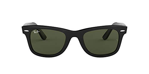 Ray-Ban Unisex Adulto 0RB2140 Rb2140 Original Wayfarer, color Negro, talla 54 mm