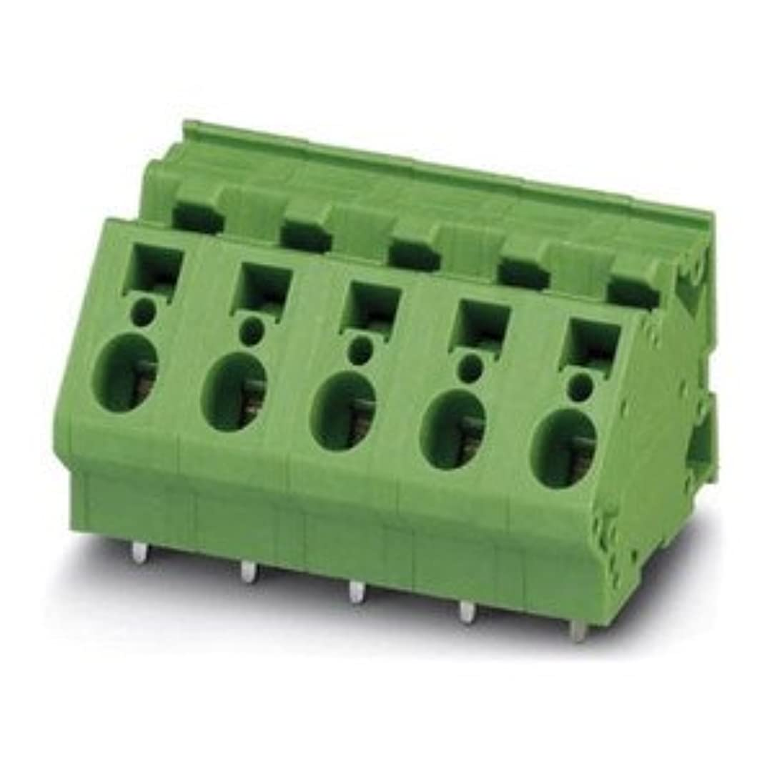 コミット式強いPhoenix Contact 基板用端子台 10mmピッチ 3極 緑 1722558