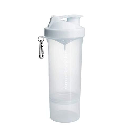 SmartShake Shaker 500 ml/18 oz Slim Blanc Néon