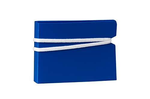 ECODEPIL Porta mascarillas - Pack 20 Uds. - Estuche para mascarillas Reutilizable – Ideal para Guardar Tus mascarillas – Protección asegurada Fácil de Limpiar - Color Azul
