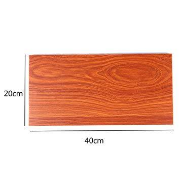 DyNamic 20 cm brede ecologische houten plank blad voor wand opknoping plank woonkamer boek opslag - 40cm