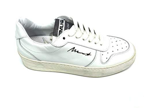 MELINE Sneaker 5003 VAR 390 Galaxy Weiß-Milch/Honig Größe 35 - Farbe Weiß, Weiß - Weiß - Größe: 35 EU