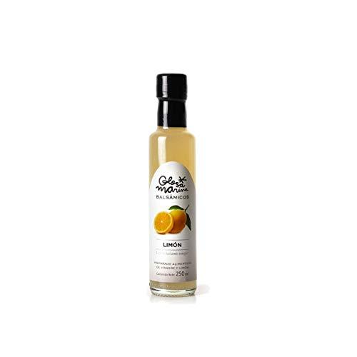 GLOSA MARINA Crema Balsámica de Limon - Balsamico Gourmet Essig Creme Zitrone (1 x 250ml)