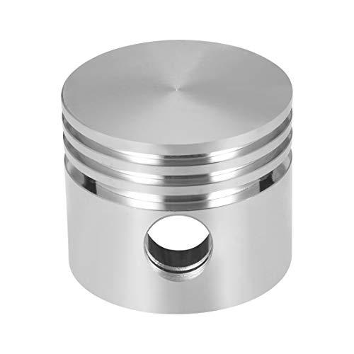 sourcing map Compresor de aire motor pistón aleación de aluminio 42 mm diámetro 36 mm altura con diámetro 12 mm