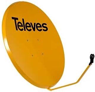Televes 7534 - Antena parabolica hierro 1000 naranja ...