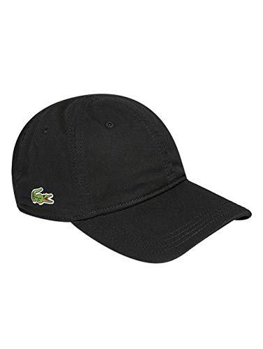 Lacoste Unisex RK9811 Baseball Cap, Schwarz (Noir), One Size (Herstellergröße: TU)